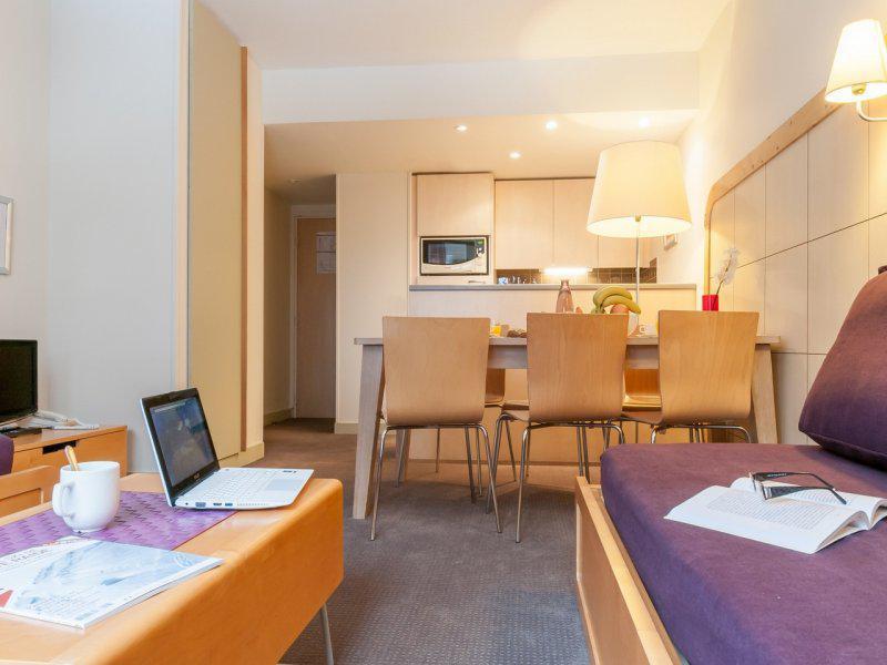 Location au ski Appartement 3 pièces 5-7 personnes (Sud) - Résidence Pierre & Vacances la Forêt - Flaine