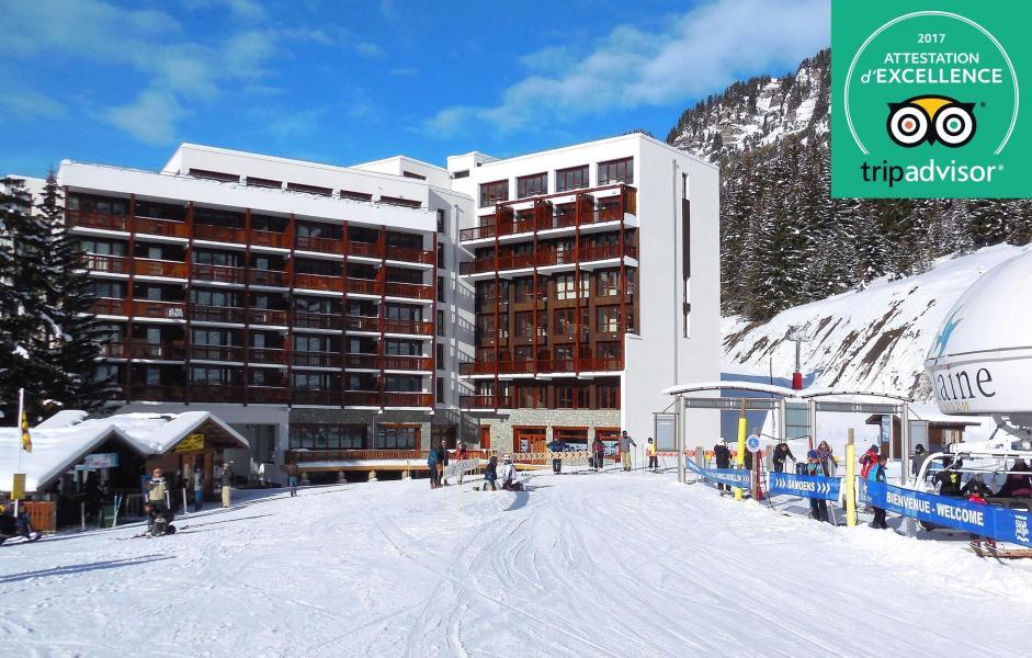 Urlaub in den Bergen Résidence Prestige  le Panoramic - Flaine - Draußen im Winter