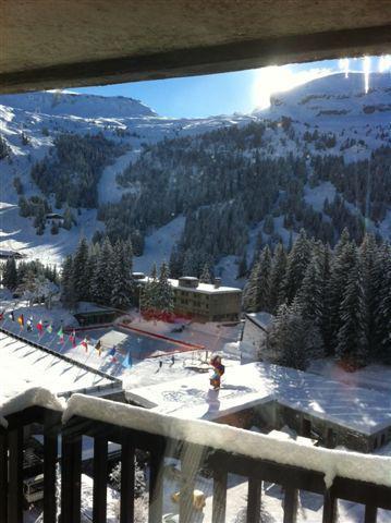 Location au ski Studio 4 personnes (82) - Résidence Véga - Flaine