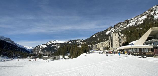 Location au ski Hôtel Club MMV le Flaine - Flaine - Extérieur hiver