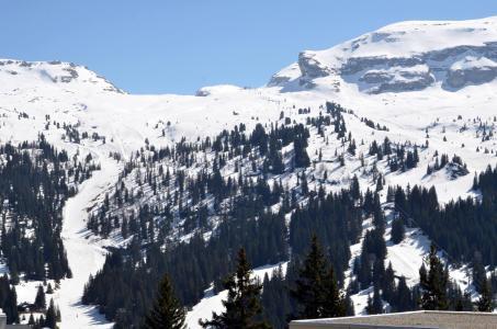 Location au ski Studio 4 personnes (108) - La Residence Andromede - Flaine - Extérieur hiver
