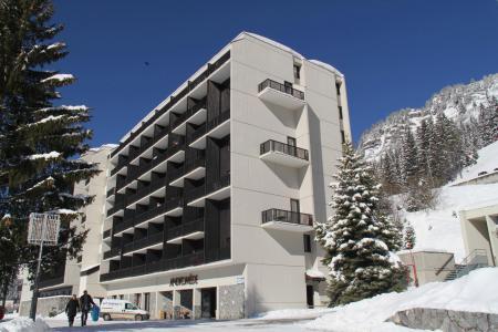 Soggiorno sugli sci La Résidence Andromède - Flaine - Esteriore inverno