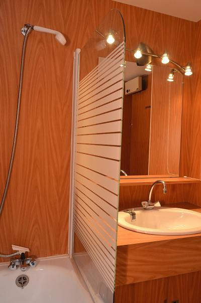 Location au ski Studio 4 personnes (710) - La Residence Andromede - Flaine - Salle d'eau
