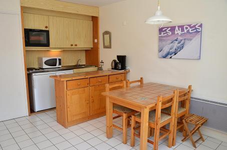 Location au ski Studio 4 personnes (332) - La Residence Castor - Flaine - Coin repas