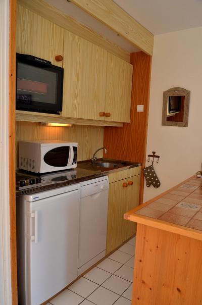 Location au ski Studio 4 personnes (332) - La Residence Castor - Flaine - Cuisine ouverte