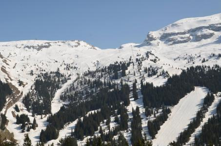 Location au ski Studio cabine 4 personnes (413) - La Residence Doris - Flaine - Extérieur hiver