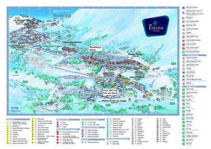Location au ski La Résidence Doris - Flaine - Plan