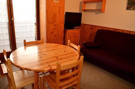 Location au ski Studio cabine 4 personnes (413) - La Residence Doris - Flaine - Table