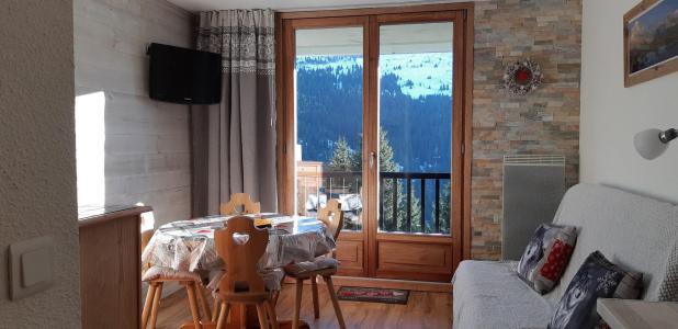 Location au ski Appartement 2 pièces cabine 4 personnes (211) - La Résidence Sagittaire - Flaine - Séjour