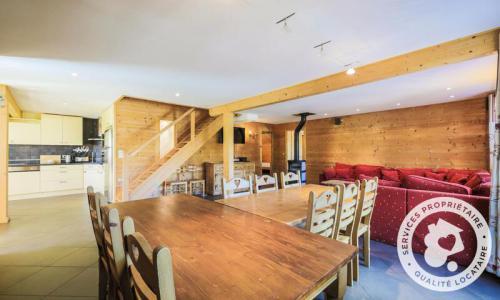 Wakacje w górach Domek górski 7 pokojowy 12 osób (180m²) - Les Chalets de Flaine Hameau - Maeva Home - Flaine - Stołem