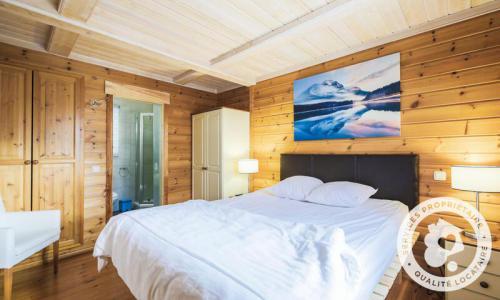 Wakacje w górach Domek górski 5 pokojowy 8 osób (Prestige 110m²) - Les Chalets de Flaine Hameau - Maeva Home - Flaine - Kanapą z wysuwanym łóżkiem