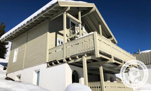 Wakacje w górach Domek górski 6 pokojowy 10 osób (Confort 125m²) - Les Chalets de Flaine Hameau - Maeva Home - Flaine - Zima na zewnątrz