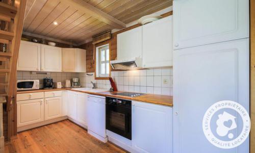 Wakacje w górach Domek górski 5 pokojowy 8 osób (Sélection 110m²) - Les Chalets de Flaine Hameau - Maeva Home - Flaine - Aneks kuchenny