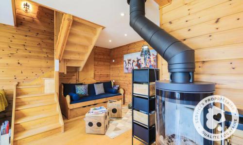 Wakacje w górach Domek górski 4 pokojowy 6 osób (Prestige 70m²) - Les Chalets de Flaine Hameau - Maeva Home - Flaine - Piecem na drewno