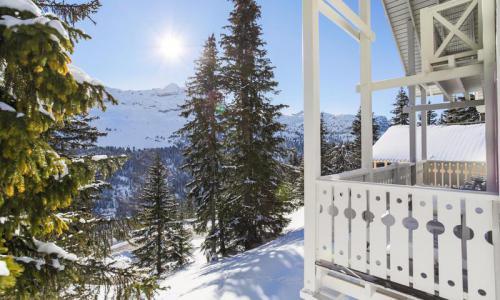 Wakacje w górach Domek górski 4 pokojowy 8 osób (Sélection 84m²) - Les Chalets de Flaine Hameau - Maeva Home - Flaine - Zima na zewnątrz