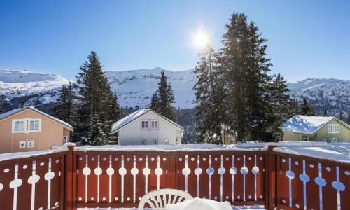 Wakacje w górach Domek górski 3 pokojowy 6 osób (Confort 70m²) - Les Chalets de Flaine Hameau - Maeva Home - Flaine - Zima na zewnątrz