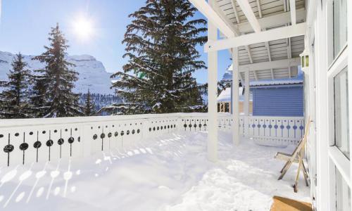 Wakacje w górach Domek górski 4 pokojowy 8 osób (Confort 110m²) - Les Chalets de Flaine Hameau - Maeva Home - Flaine - Zima na zewnątrz