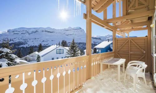 Wakacje w górach Domek górski 3 pokojowy 8 osób (Confort 84m²) - Les Chalets de Flaine Hameau - Maeva Home - Flaine - Zima na zewnątrz
