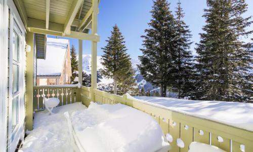 Wakacje w górach Domek górski 4 pokojowy 8 osób (Sélection 110m²) - Les Chalets de Flaine Hameau - Maeva Home - Flaine - Zima na zewnątrz