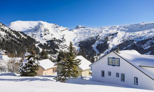 Wakacje w górach Domek górski 5 pokojowy 8 osób (Sélection 110m²) - Les Chalets de Flaine Hameau - Maeva Home - Flaine - Zima na zewnątrz