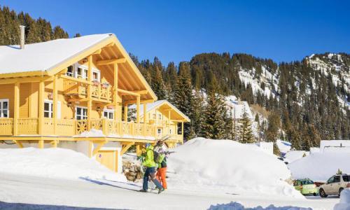 Wakacje w górach Les Chalets de Flaine Hameau - Maeva Home - Flaine - Zima na zewnątrz