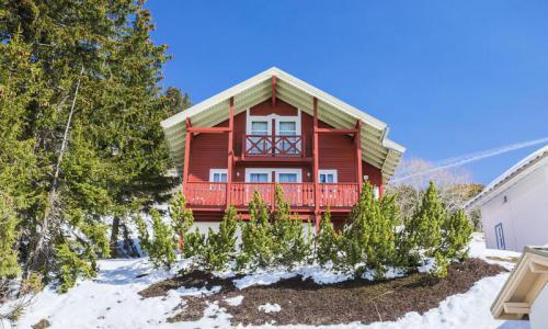 Wakacje w górach Domek górski 4 pokojowy 8 osób (Confort 84m²) - Les Chalets de Flaine Hameau - Maeva Home - Flaine - Zima na zewnątrz