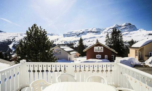 Wakacje w górach Domek górski 5 pokojowy 10 osób (Sélection 110m²) - Les Chalets de Flaine Hameau - Maeva Home - Flaine - Zima na zewnątrz