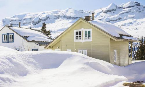 Wakacje w górach Domek górski 4 pokojowy 6 osób (Prestige 70m²) - Les Chalets de Flaine Hameau - Maeva Home - Flaine - Zima na zewnątrz