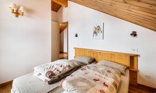 Wakacje w górach Domek górski 5 pokojowy 8 osób (Prestige 110m²) - Les Chalets de Flaine Hameau - Maeva Home - Flaine - Zima na zewnątrz