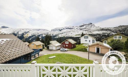 Wakacje w górach Domek górski 5 pokojowy 8 osób (Prestige 110m²) - Les Chalets de Flaine Hameau - Maeva Particuliers - Flaine - Zima na zewnątrz