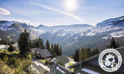 Wakacje w górach Domek górski triplex 7 pokojowy  dla 12 osób (Sélection 145m²) - Les Chalets de Flaine Hameau - Maeva Particuliers - Flaine - Zima na zewnątrz