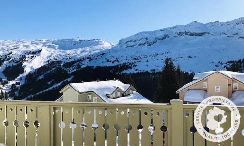 Wakacje w górach Domek górski 6 pokojowy 10 osób (Confort 125m²) - Les Chalets de Flaine Hameau - Maeva Particuliers - Flaine - Zima na zewnątrz