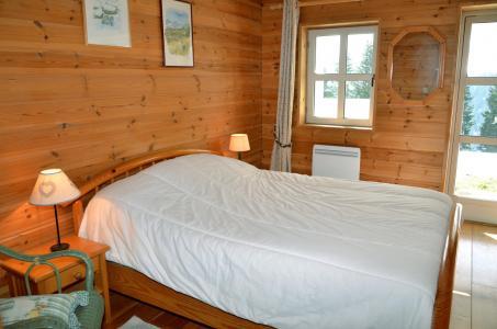 Location au ski Chalet 5 pièces mezzanine 8 personnes (08) - Les Chalets Du Hameau - Flaine - Chambre