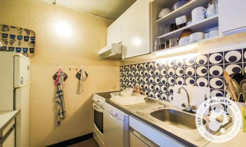 Wakacje w górach Apartament 2 pokojowy 6 osób (Budget 47m²-8) - Résidence Aldébaran - Maeva Home - Flaine - Aneks kuchenny