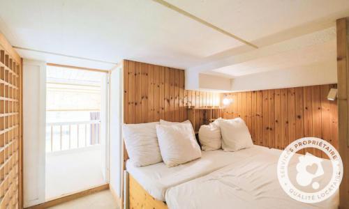 Wakacje w górach Apartament 2 pokojowy 8 osób (Budget 32m²-1) - Résidence Aldébaran - Maeva Home - Flaine - Łóżkiem