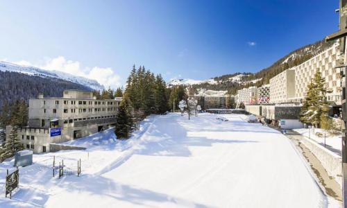 Wakacje w górach Apartament 2 pokojowy 6 osób (Confort 44m²-3) - Résidence Aldébaran - Maeva Home - Flaine - Zima na zewnątrz