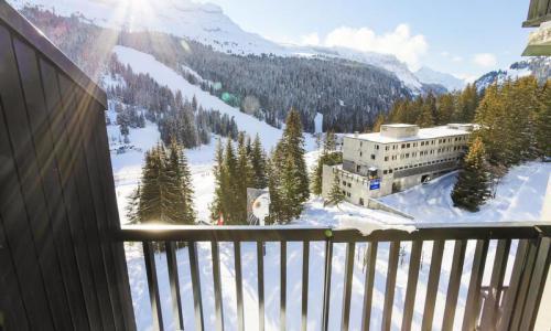 Wakacje w górach Apartament 2 pokojowy 6 osób (Budget 47m²-8) - Résidence Aldébaran - Maeva Home - Flaine - Zima na zewnątrz