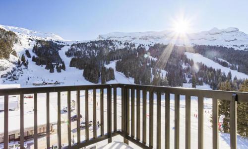 Wakacje w górach Studio 4 osoby (Confort 28m²-5) - Résidence Aldébaran - Maeva Home - Flaine - Zima na zewnątrz