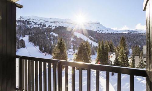 Wakacje w górach Apartament 2 pokojowy 6 osób (Confort 43m²-4) - Résidence Aldébaran - Maeva Home - Flaine - Zima na zewnątrz