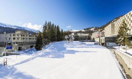 Wakacje w górach Apartament 3 pokojowy 8 osób (Confort 58m²-2) - Résidence Aldébaran - Maeva Home - Flaine - Zima na zewnątrz