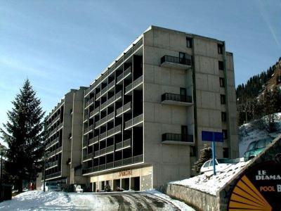 Location au ski Studio coin montagne 4 personnes (109) - Residence Andromede - Flaine - Extérieur hiver