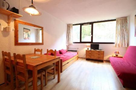 Location au ski Studio coin montagne 4 personnes (109) - Residence Andromede - Flaine - Séjour