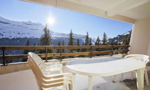 Wakacje w górach Apartament 2 pokojowy 6 osób (Confort 42m²-2) - Résidence Arche - Maeva Home - Flaine - Zima na zewnątrz