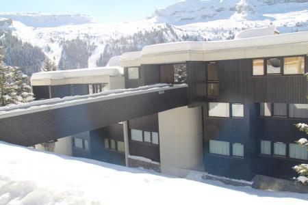 Vacances en montagne Résidence Balance - Flaine - Extérieur hiver