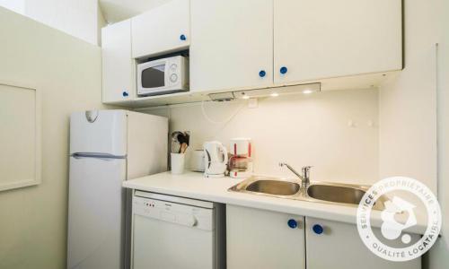 Wakacje w górach Apartament 2 pokojowy 6 osób (Confort 48m²-3) - Résidence Capricorne - Maeva Home - Flaine - Zima na zewnątrz