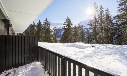 Wakacje w górach Apartament 2 pokojowy 6 osób (Confort 36m²) - Résidence Castor - Maeva Home - Flaine - Zima na zewnątrz