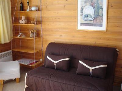 Location au ski Studio 4 personnes (C3) - Residence Chateaux De Crans - Flaine - Séjour