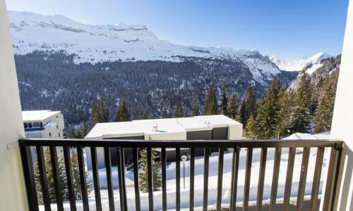 Wakacje w górach Studio 4 osoby (Budget 26m²-4) - Résidence Doris - Maeva Home - Flaine - Zima na zewnątrz