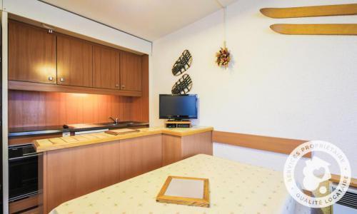 Wakacje w górach Studio 4 osoby (Confort 24m²) - Résidence Gémeaux - Maeva Home - Flaine - Aneks kuchenny