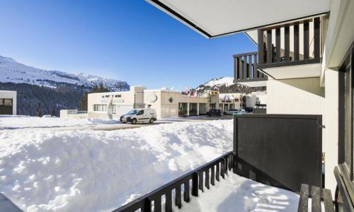 Wakacje w górach Studio 4 osoby (Confort 24m²) - Résidence Gémeaux - Maeva Home - Flaine - Zima na zewnątrz